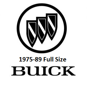1975-89 Buick Full Size