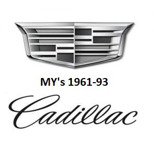 1961-93 Cadillac