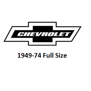 1949-74 Chevrolet Full Size