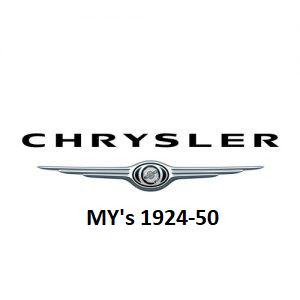 1924-50 Chrysler