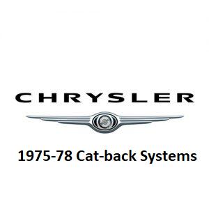 1975-78 Chrysler Cat-Back
