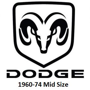 1960-74 Dodge Mid Size