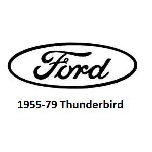 1955-79 Ford Thunderbird