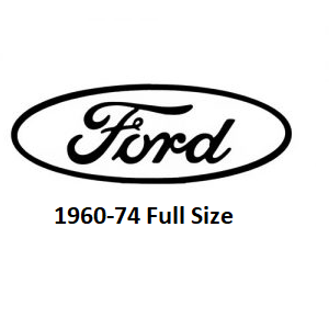 1960-74 Ford Full Size