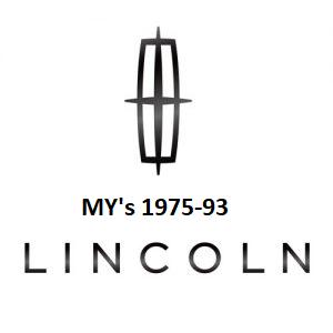 1975-93 Lincoln