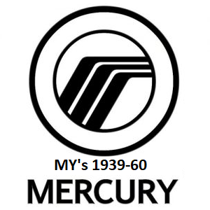 1939-60 Mercury
