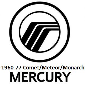 1960-77 Mercury Comet/Meteor/Monarch