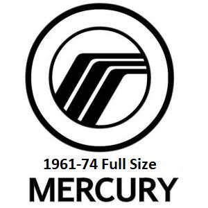 1961-74 Mercury Full Size
