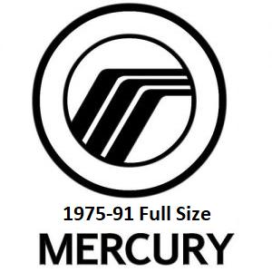 1975-91 Mercury Full Size