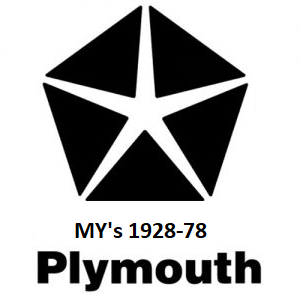 1928-78 Plymouth