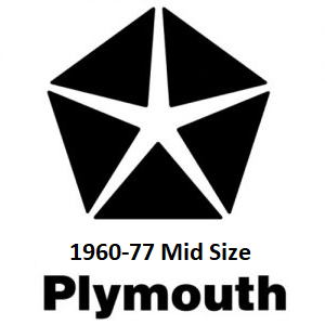 1960-77 Plymouth Mid Size