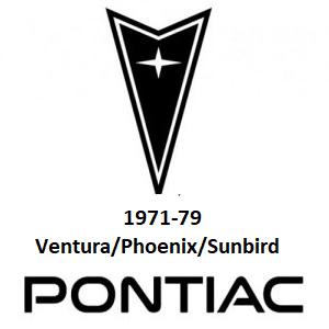 1971-79 Ventura / Phoenix / Sunbird